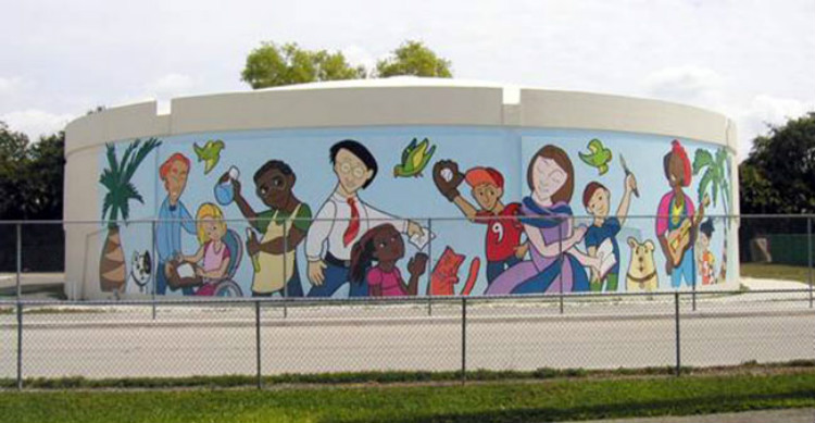 Coral Springs Mural Finished