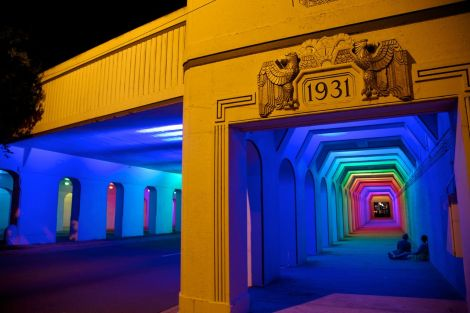 18th Street Railroad Viaduct Lighting by Bill Fitzgibbons
