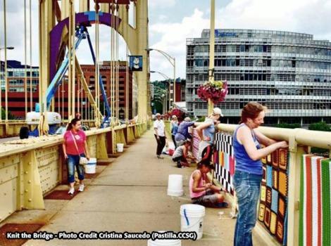 Knit the Bridge Pittsburgh