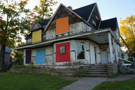 Spencer's Art House in Flint, Michigan
