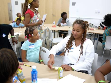 Family studio at Young At Art