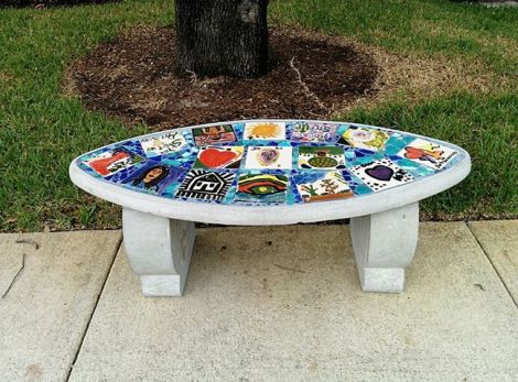 First Story Bench installed Nov 2013