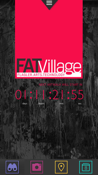 FAT Village App by Helium Creative, Chris Heller
