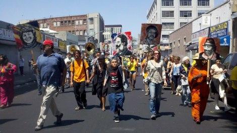 Los Angeles Poverty Dept Parade.