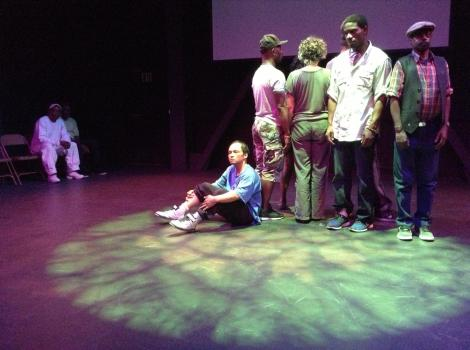 Los Angeles Poverty Dept Performance about life on Skid Row.