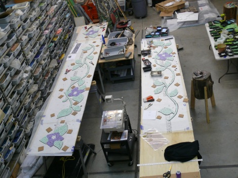 Mosaic Tiles for Hollywood Lakes